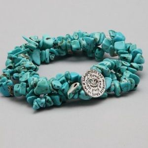 Jewelry - NEW BOUTIQUE BEADED BRACELET NWT SMALL
